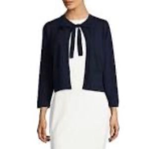 KARL LAGERFELD PARIS ECLIPSE BOW COVER UP SWEATER